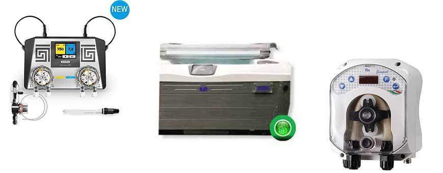 Spa automatische waterbehandeling
