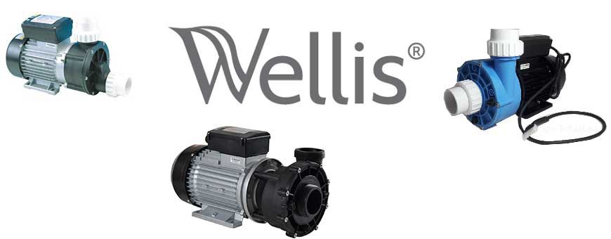 Wellis | LX | Spa- Jacuzzi pompen| Spa-Toaal.EU